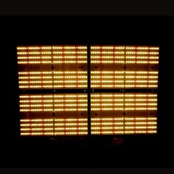 480w Samsung LM301H Dimmable LED Grow Light White Mix RED660NM led Board for 44ft Grow Area (lm301H 3500k +Red)