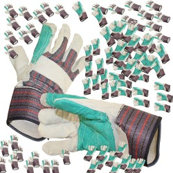 80-Pair Working Gloves Thick Material One Size Fits All Warehouse Nursery Gardening Landscaping