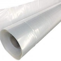 A&A Green Store Greenhouse Plastic 4 Year 6 mil UV Resistant Clear Polyethylene Film (32' x 100')