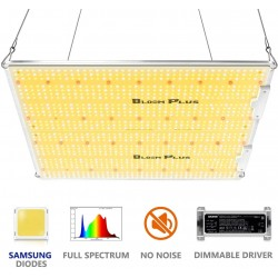 Bloom Plus LED Grow Light BP-3000 Grow Lights for Indoor Plants Full Spectrum Growing Lamps with Samsung 2835 Diodes for Commercial Greenhouse Indoor Plants Veg Bloom 5x5 ft (1174 LEDs)