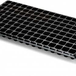 128 Cell Seedling Tray - Extra Strength 60 Pack, Seed Starter Grow Trays for Starting Plantings Propagation, Germination 1020 Plug Flat