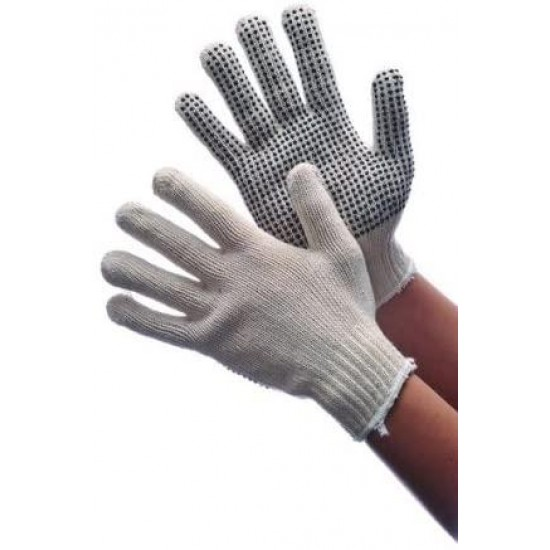 Women's Cotton/Poly String Knit Gloves Case Pack 300, new