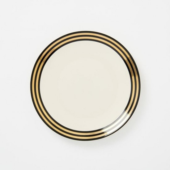 Fishs Eddy Gilded Scalloped Side Plate